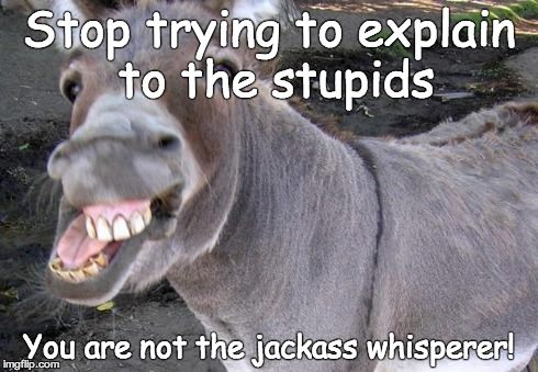 Are You a Jackass Whisperer?