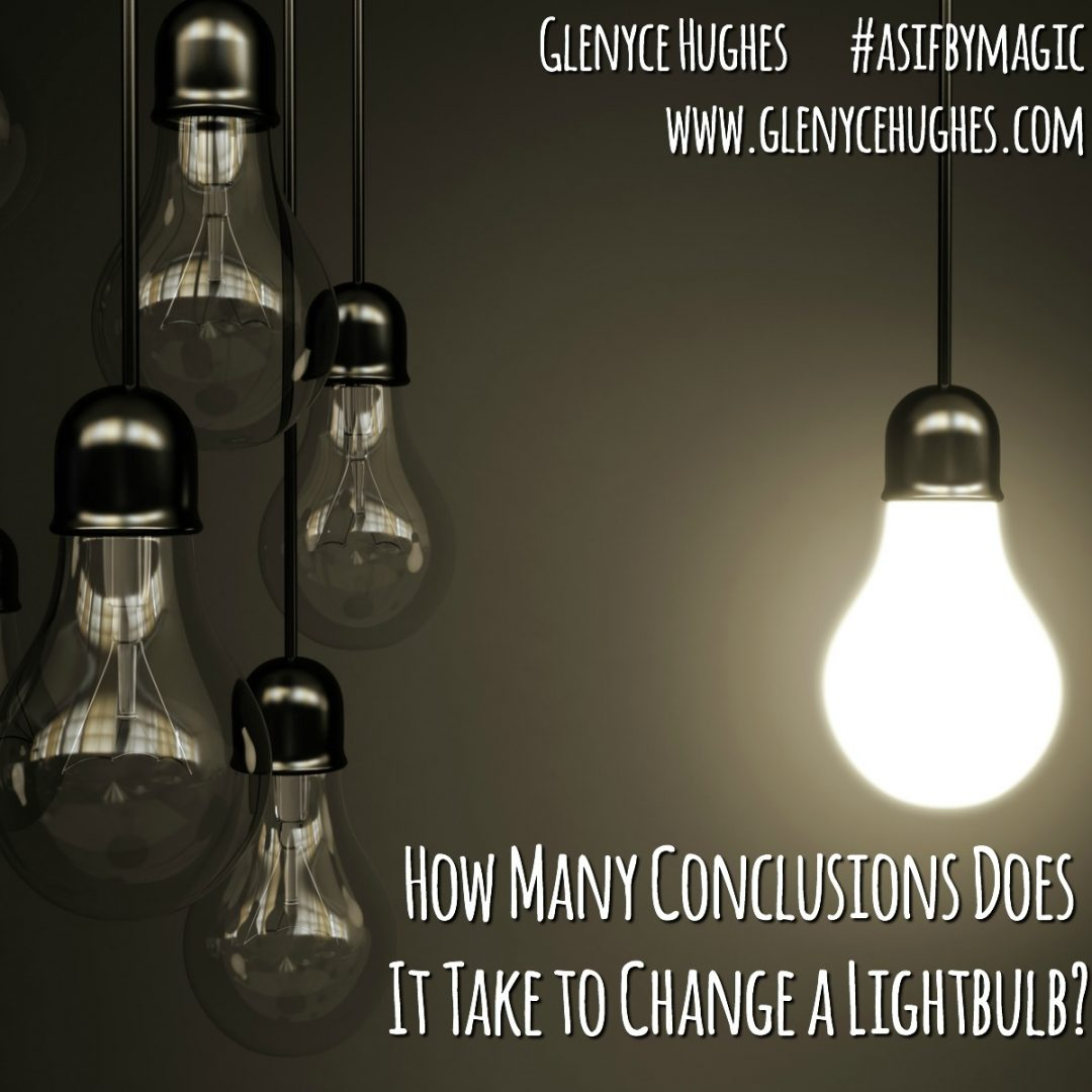 How Many Conclusions Does it Take to Change a Light Bulb?