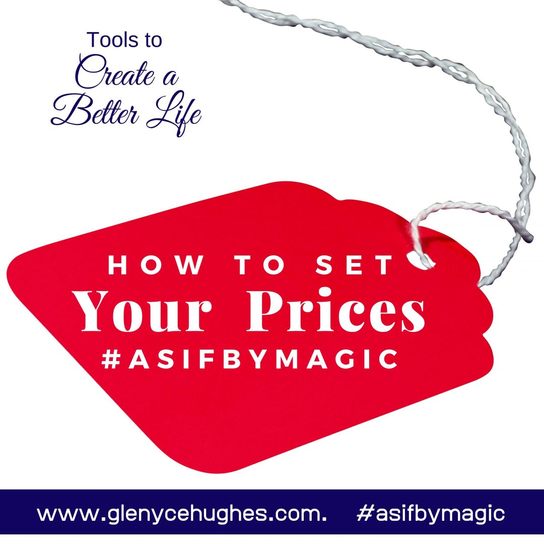 How to Set Your Prices #asifbymagic